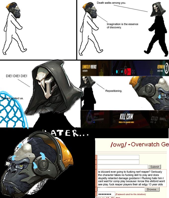 d16 nerf reaper racists on 4chan know your meme