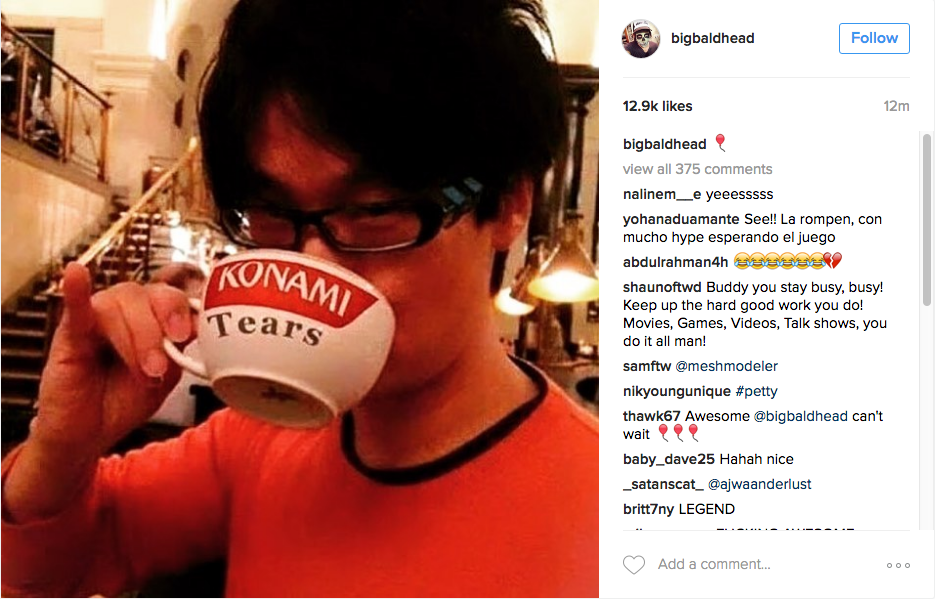 ee9 kojima does it konami know your meme