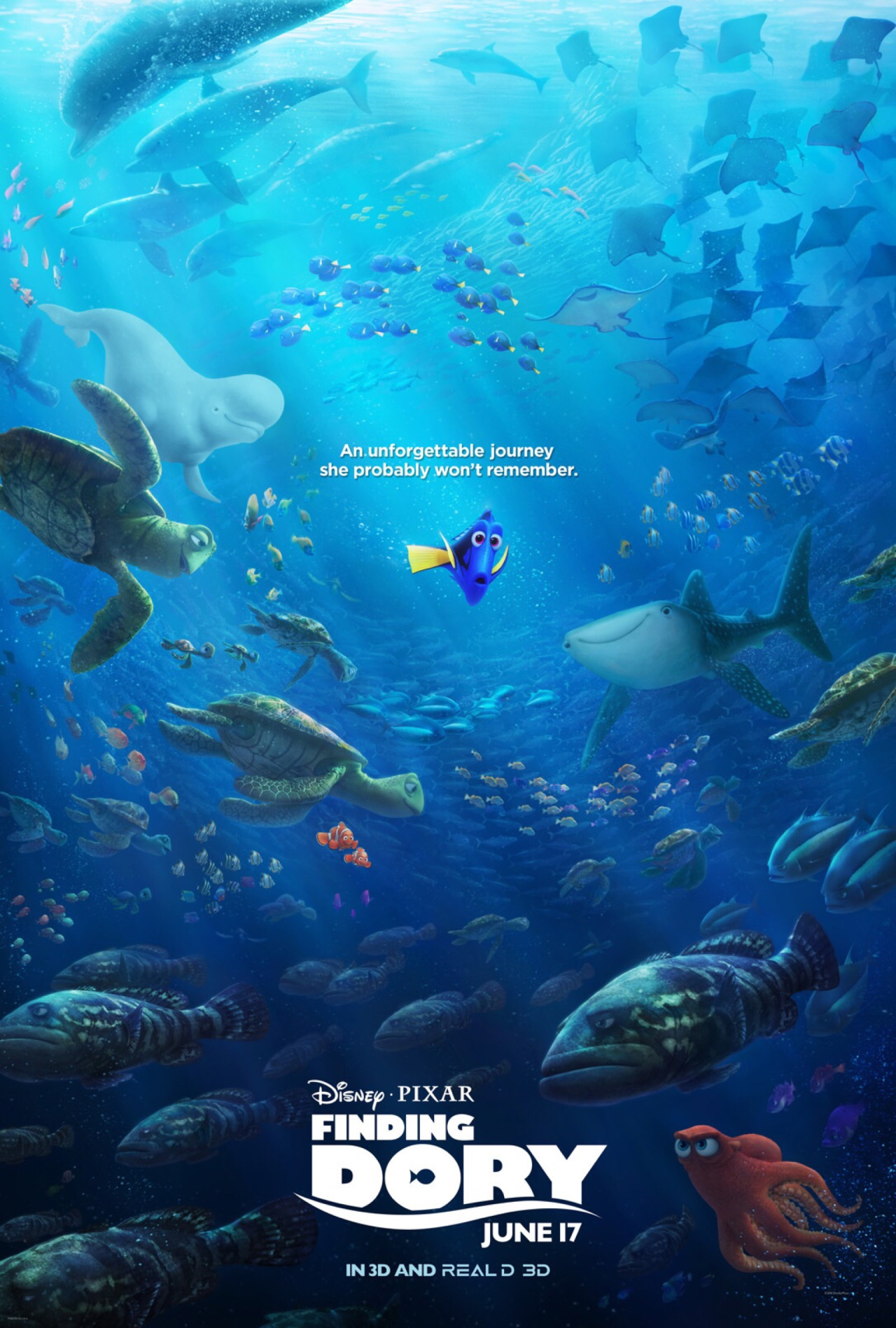 Finding dory poster finding nemo know your meme anunforgettable journey she probably wont remember die pixar finding june 17 thecheapjerseys Gallery