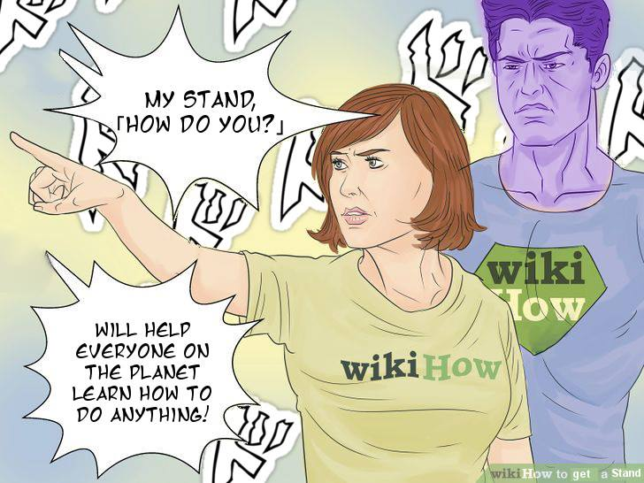 15e wikihow's stand wikihow know your meme