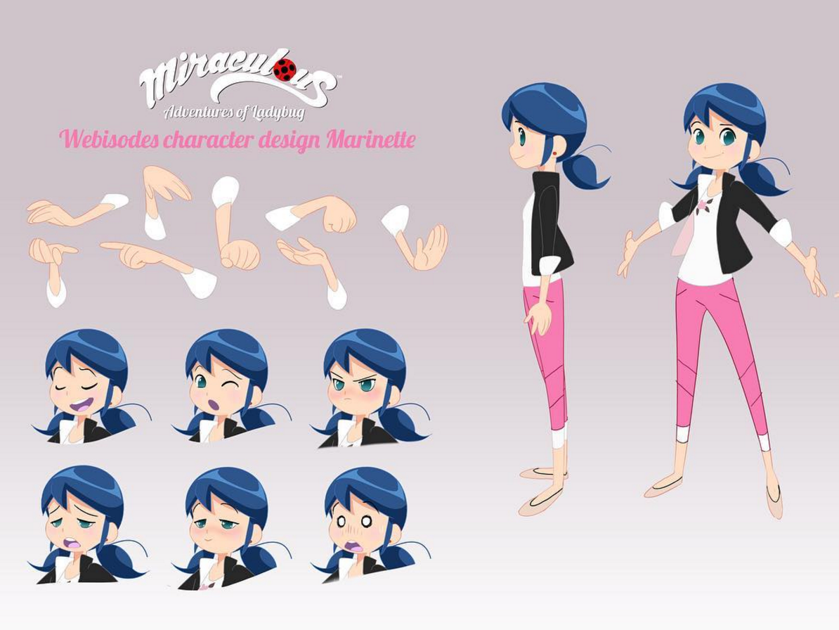 Design Your Anime Character : Marinette webisode character design miraculous ladybug know your