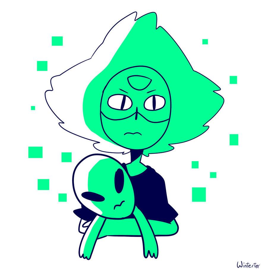 peridot plus alien steven universe know your meme