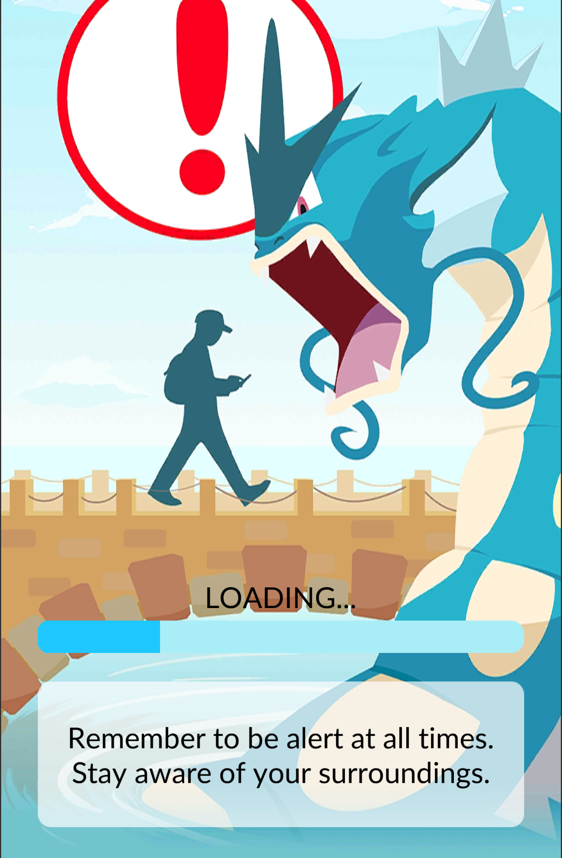 710 thoughtful warning pokémon go know your meme