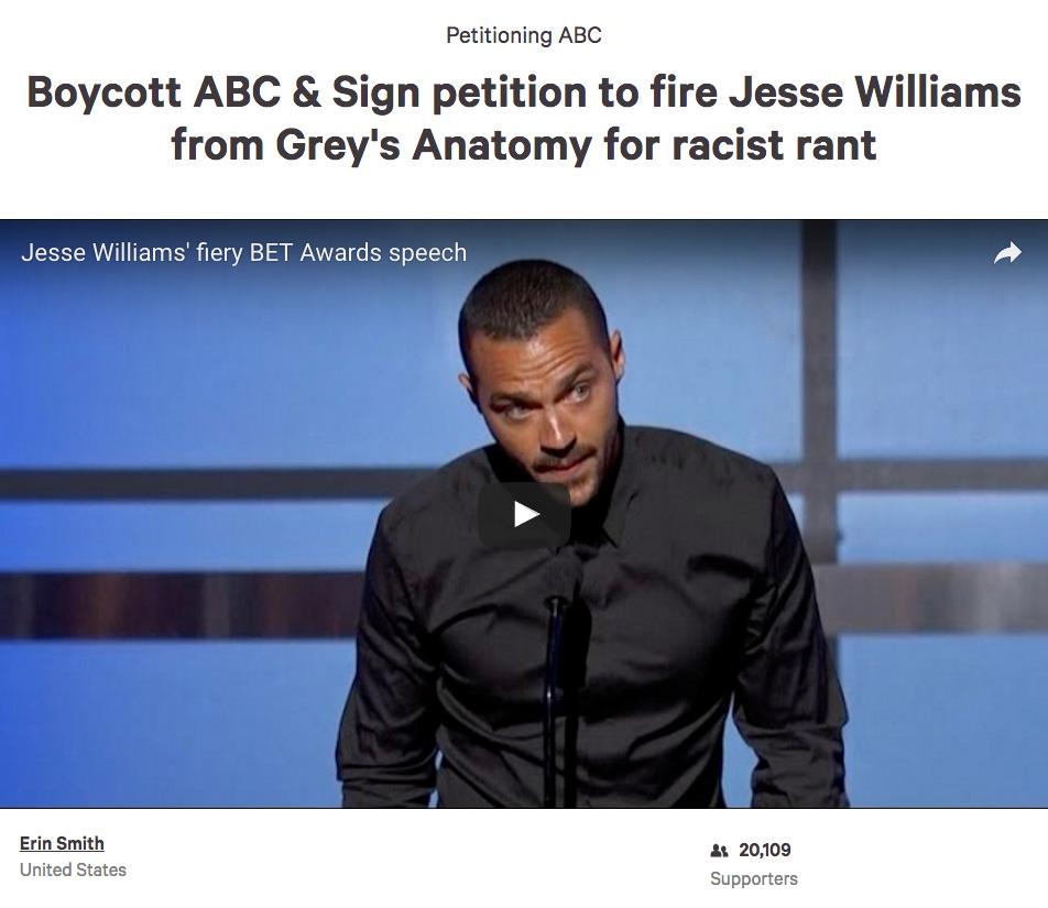aa8 change org petition jesse williams' bet awards speech know,Jesse Williams Memes
