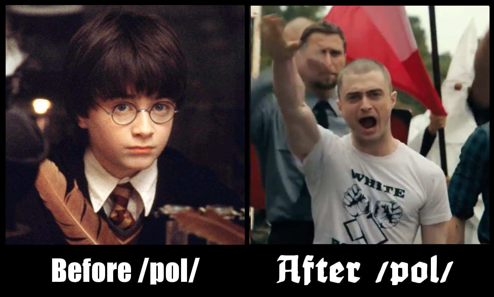 d57 daniel radcliffe before and after pol pol know your meme