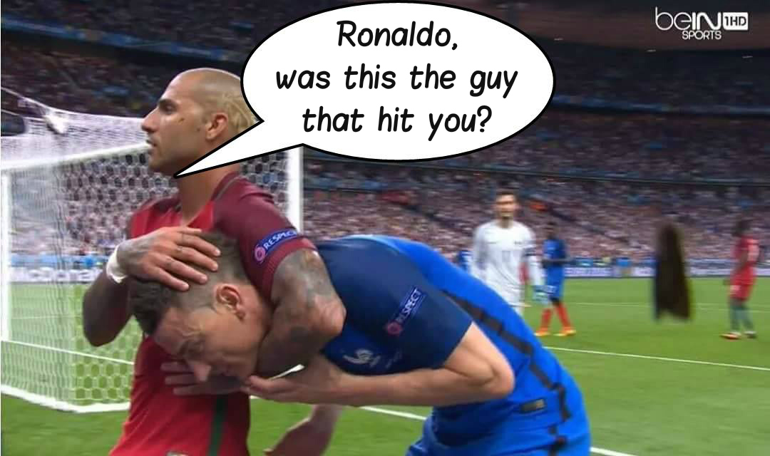 7c3 who harmed ronaldo's knee? cristiano ronaldo know your meme