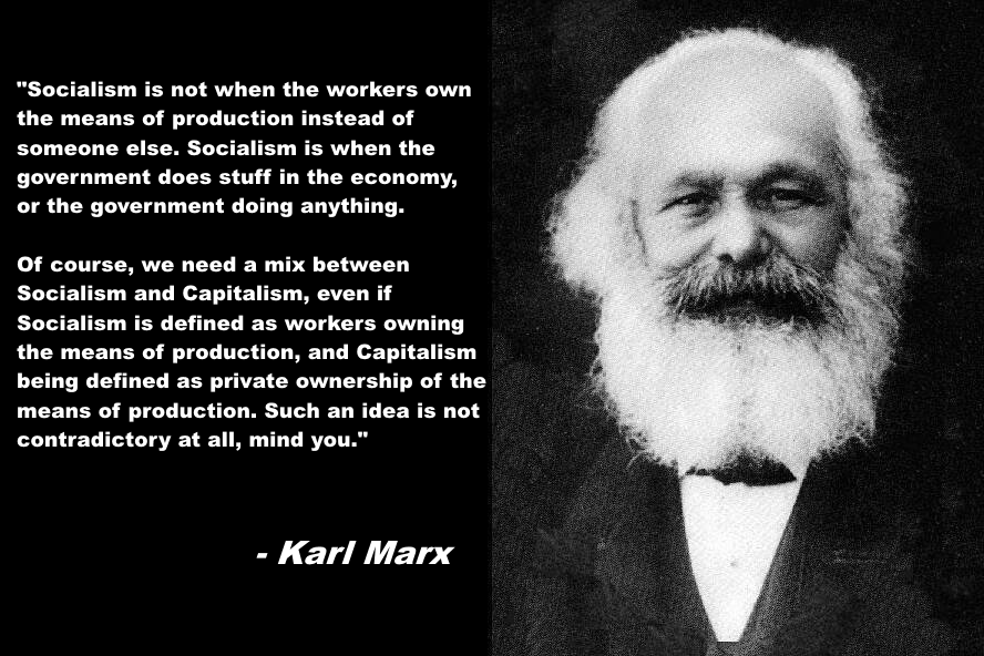c1a karl marx explains the difference between socialism and capitalism