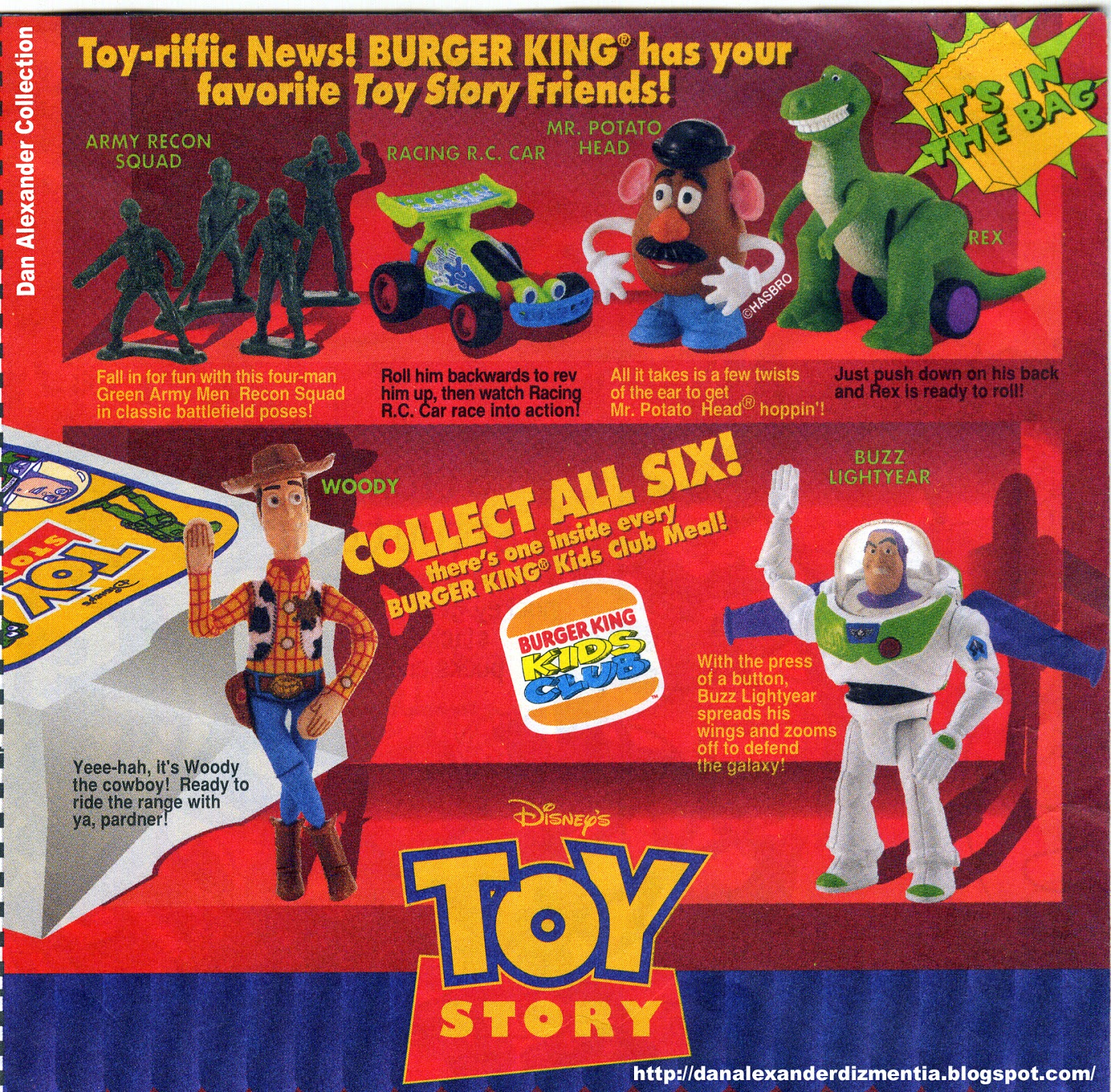Burger King Kid S Club Toys Toy Story Know Your Meme