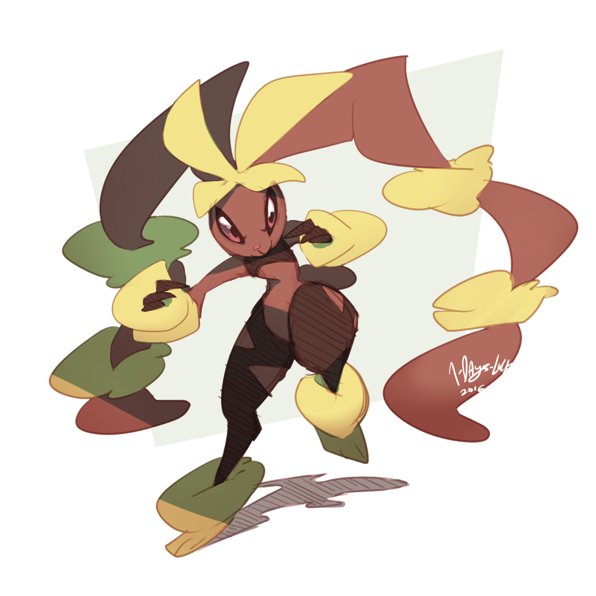 A punny start (Lopunny TF) by Thwill on DeviantArt