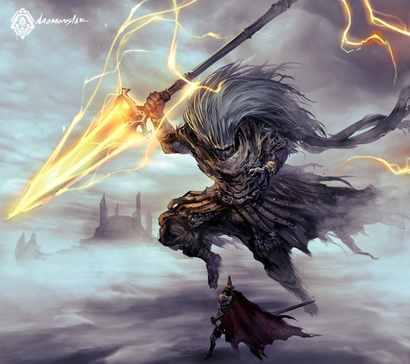 nameless king dark souls