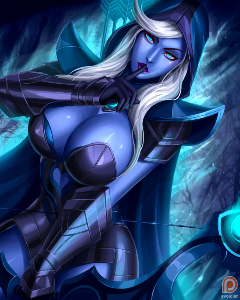 drow ranger defense of the ancients dota know your meme