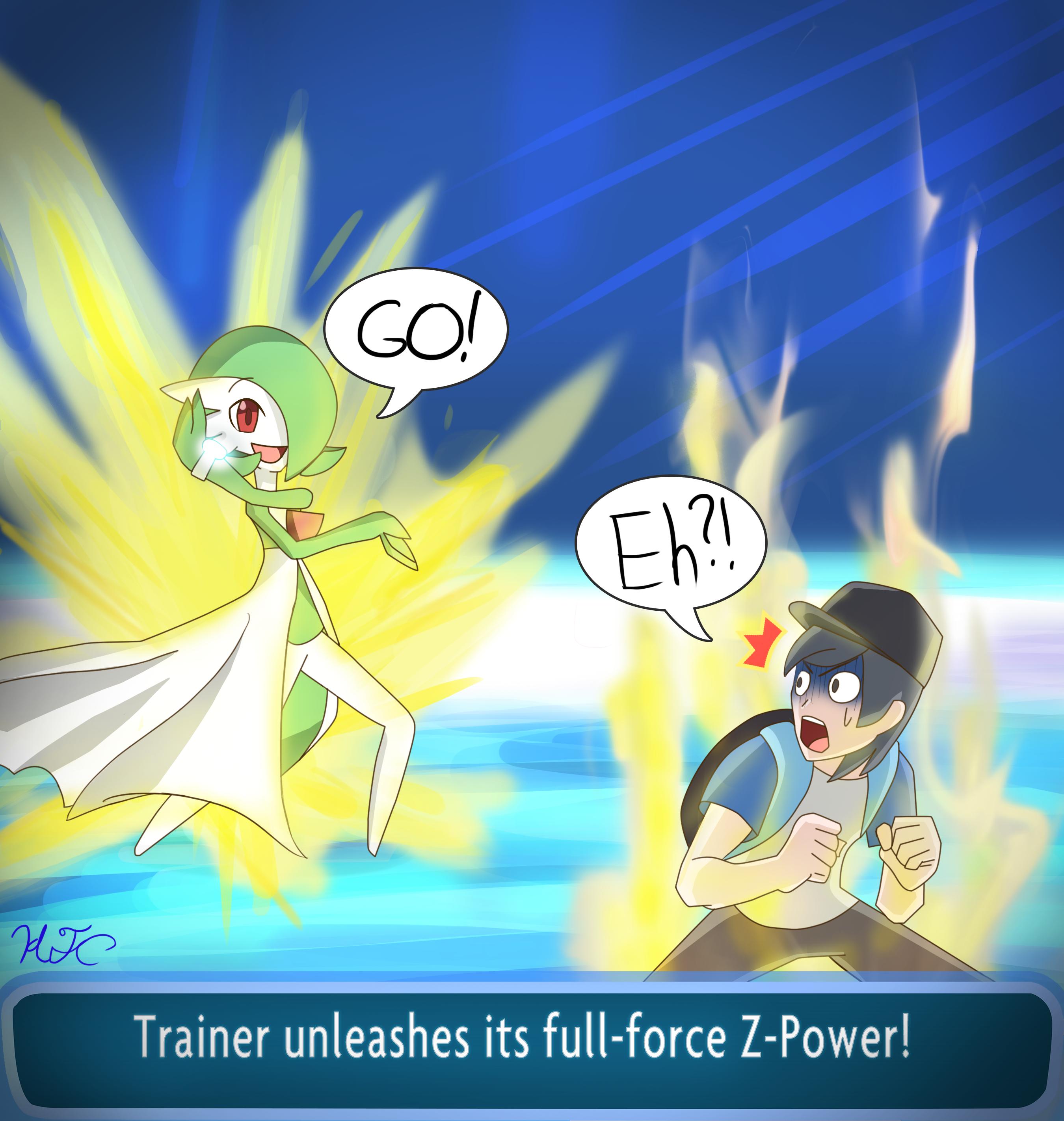 how to use z power pokemon sun