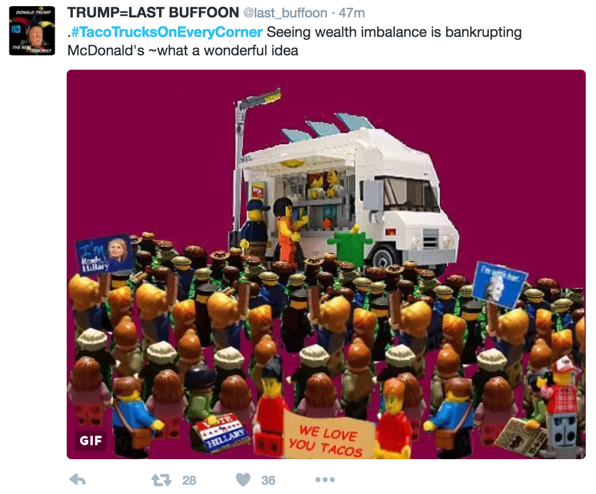 f9d lego taco truck tacotrucksoneverycorner know your meme