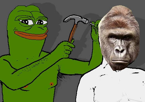 156 pepe harambe harambe the gorilla know your meme,Know Your Meme Pepe