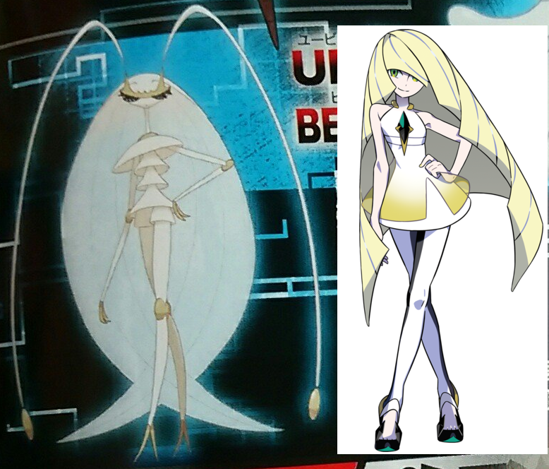 UB-02 Beauty and Lusamine put next to each other by /vp/ for ...