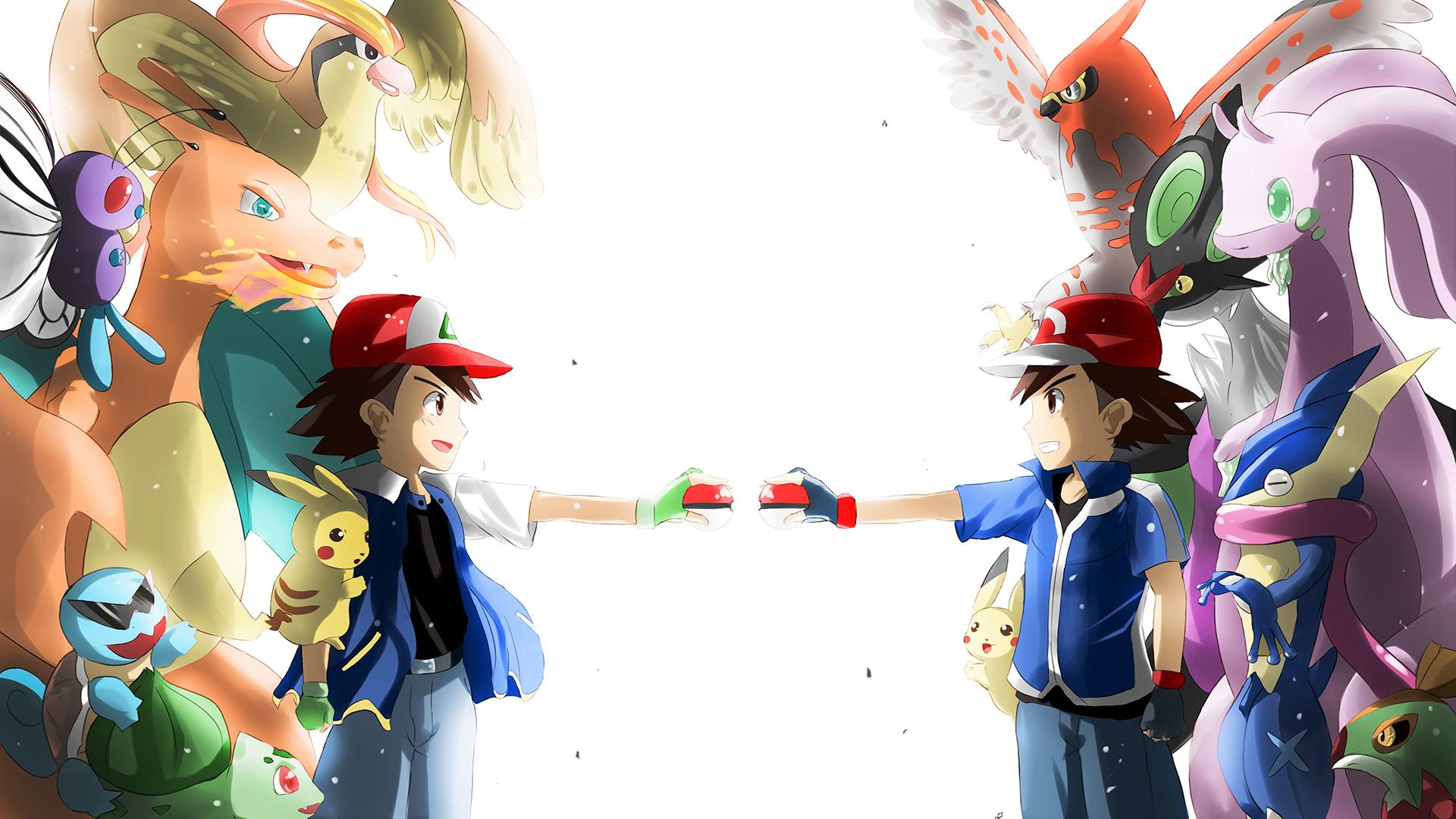 original ash vs kalos ash pokémon know your meme