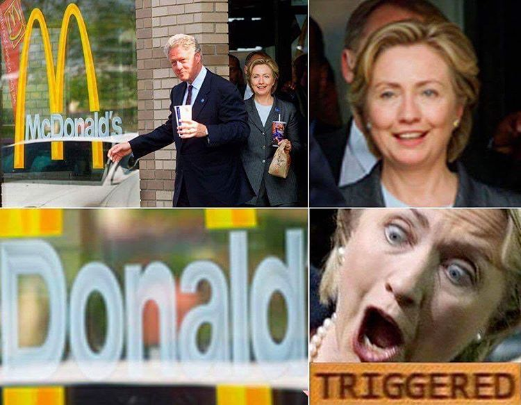 Funny Donald Trump Hillary Clinton Memes : Hillary s corpse u e donald imgflip
