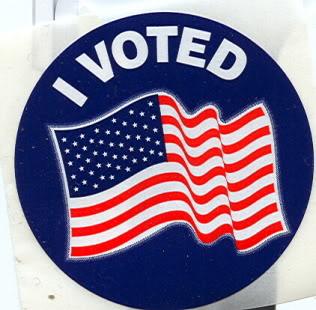 2d8 i voted blue sticker politics government know your meme,I Voted Sticker Meme
