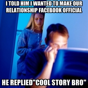 b98 cool story bro facebook official know your meme