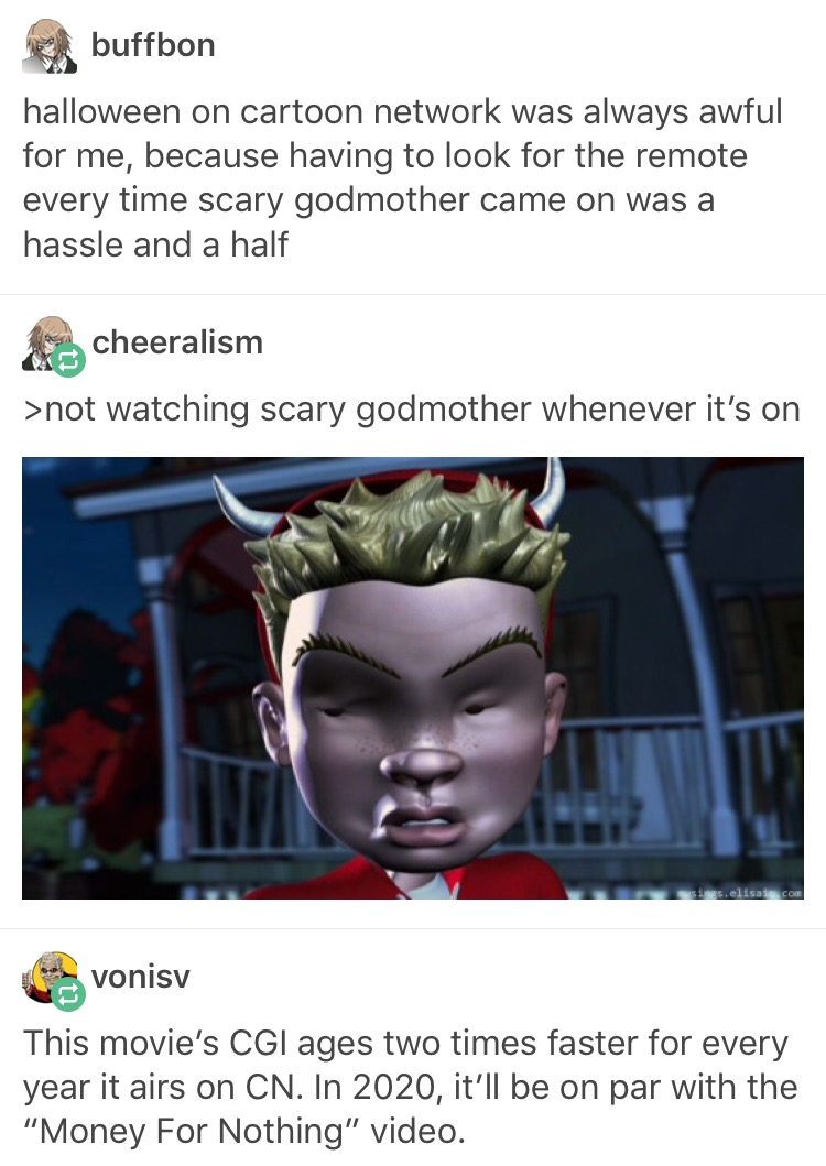 0ac how dare you insult sgm scary godmother know your meme