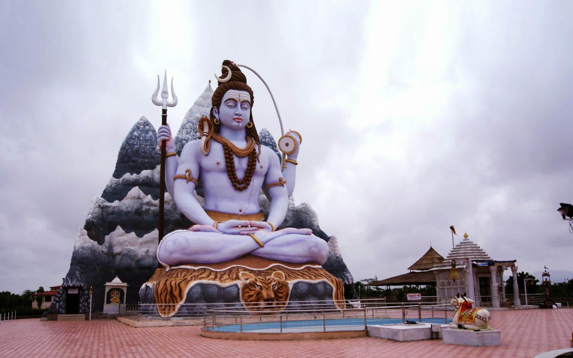 Hindu God Shiva Sculpture   God   Know Your Meme