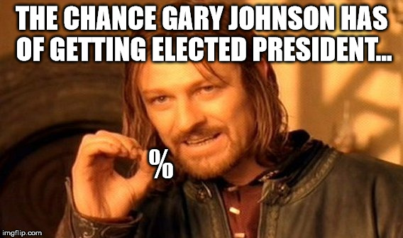 818 one does not simply rise above the two party system gary johnson
