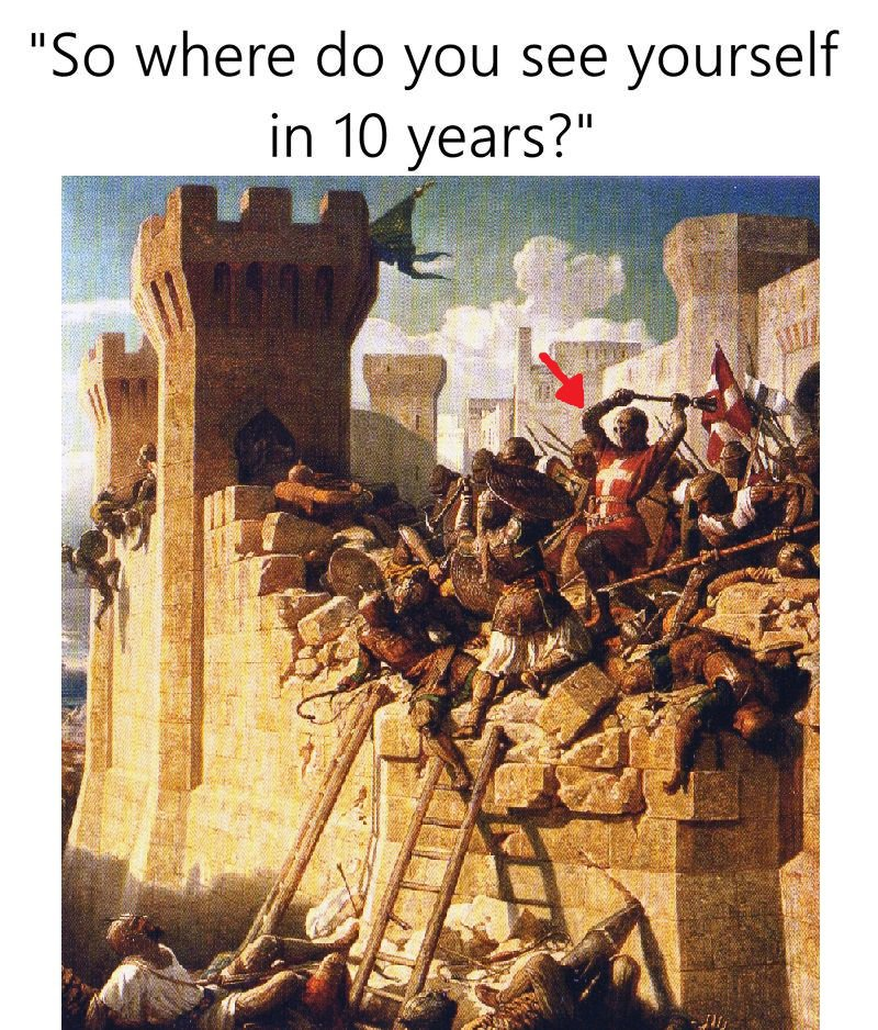 In 10 years deus vult know your meme so where do you see yourself in 10 years solutioingenieria Images