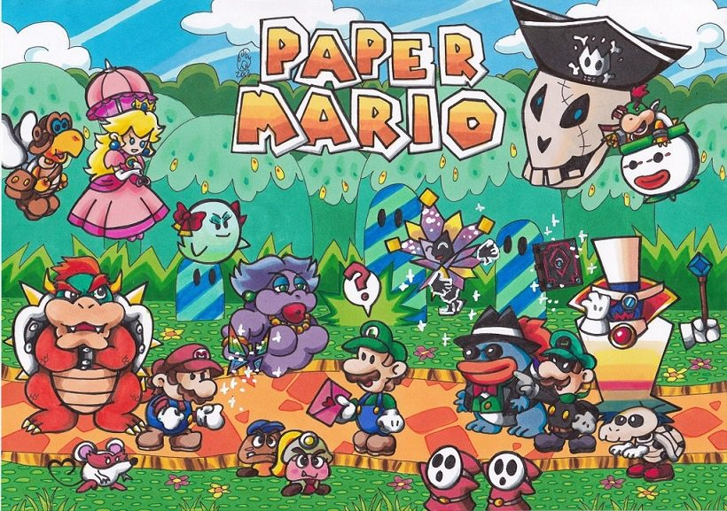 super paper mario how to get all catch cards