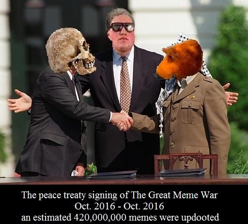c29 the peace treaty signing of the great meme war bear in the big