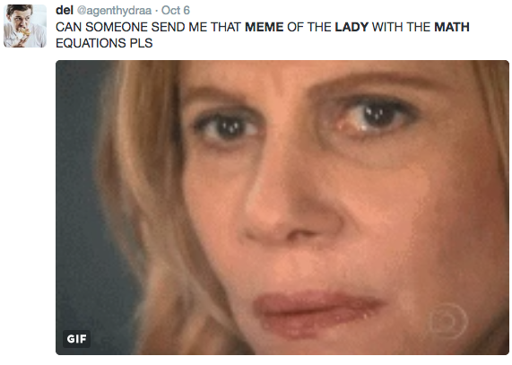 22d send me the math lady math lady confused lady know your meme