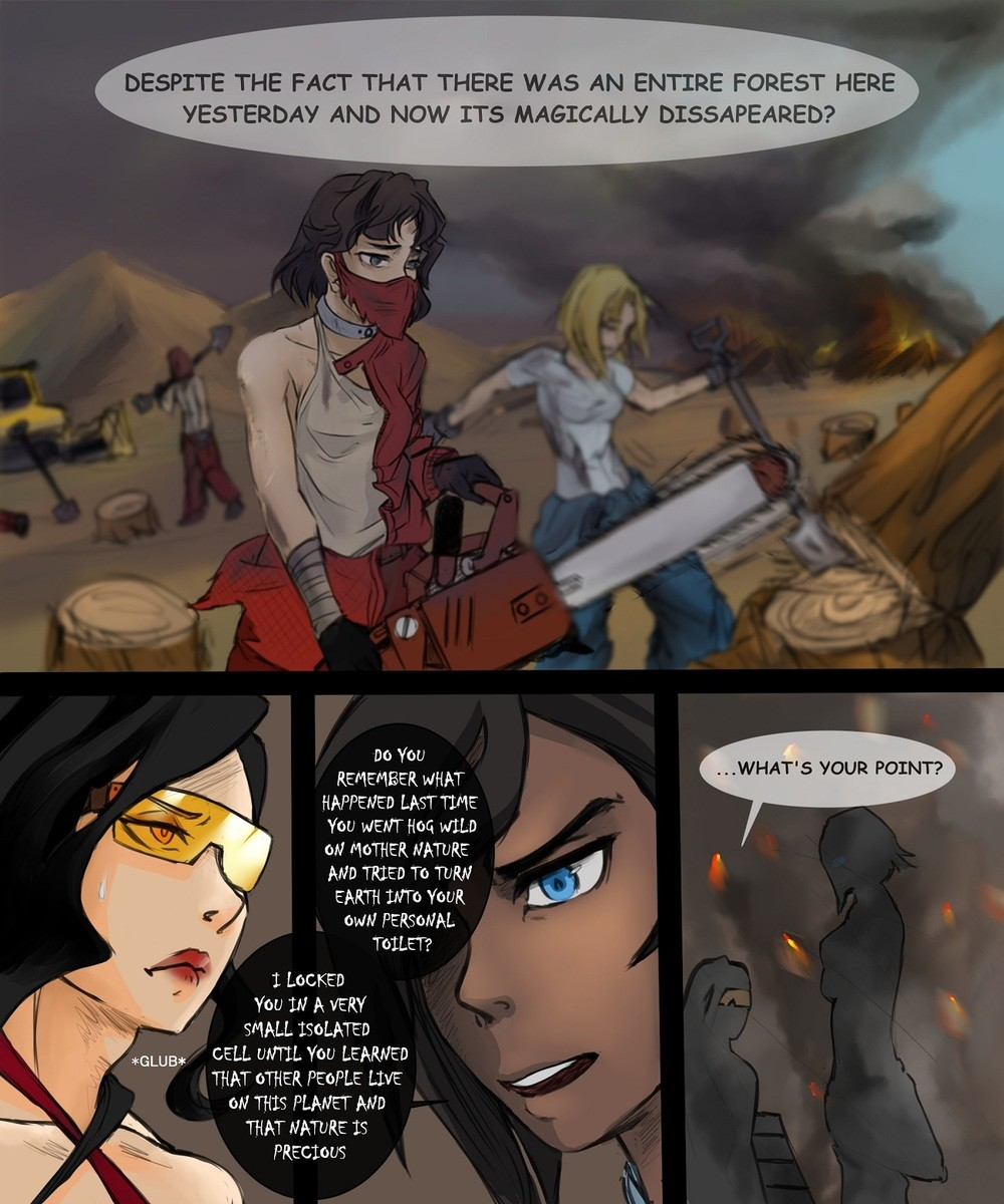 Korra Lectures Asami Rwby Know Your Meme