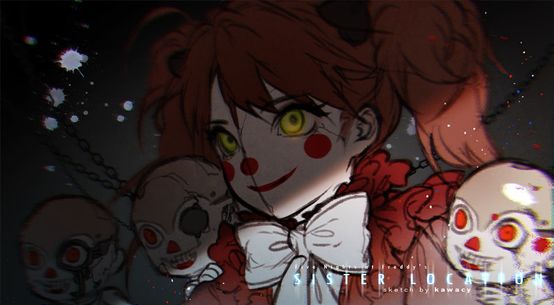 0 Sketch By K A W Cy Five Nights At Freddys Sister Location