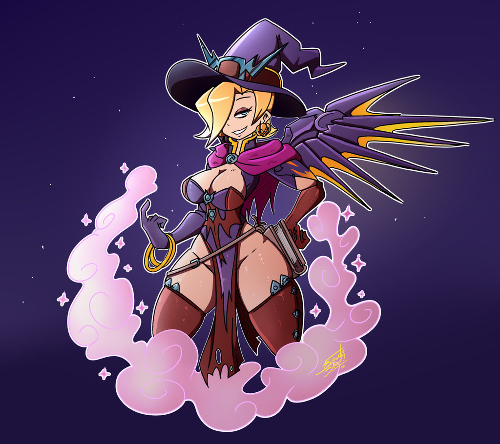 Mercy halloween skin | Overwatch | Know Your Meme