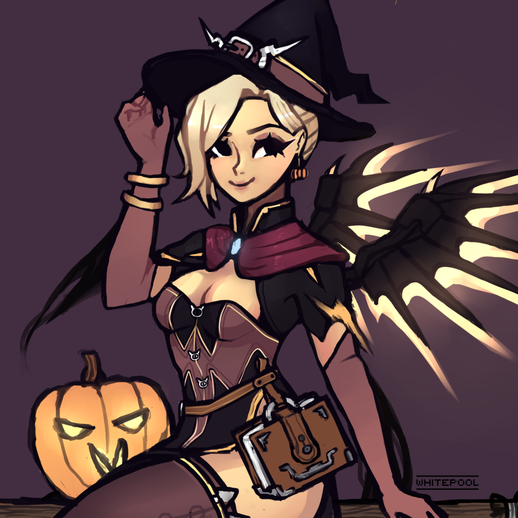 Mercy, Overwatch Halloween | Overwatch | Know Your Meme