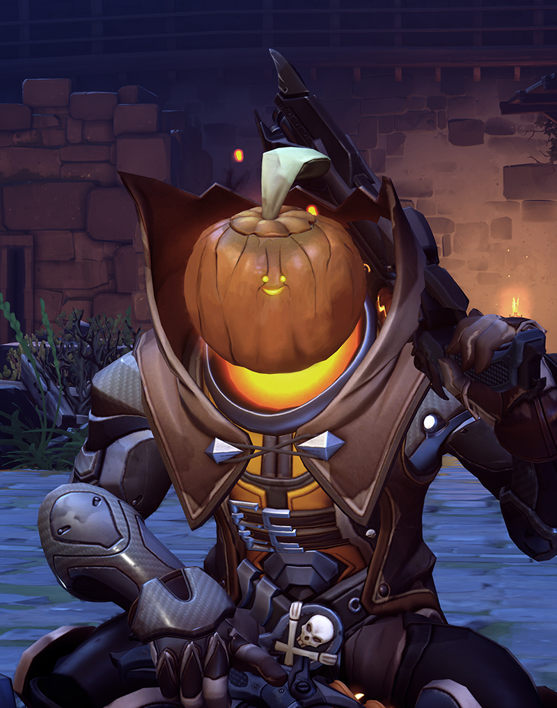 The True Face of Halloween | Overwatch | Know Your Meme