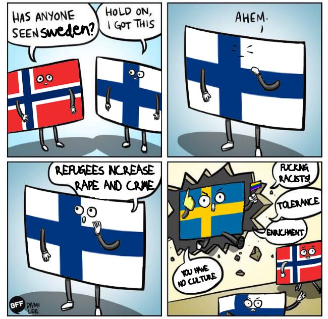 59a has anyone seen sweden? sweden yes know your meme,Trump Sweden Meme
