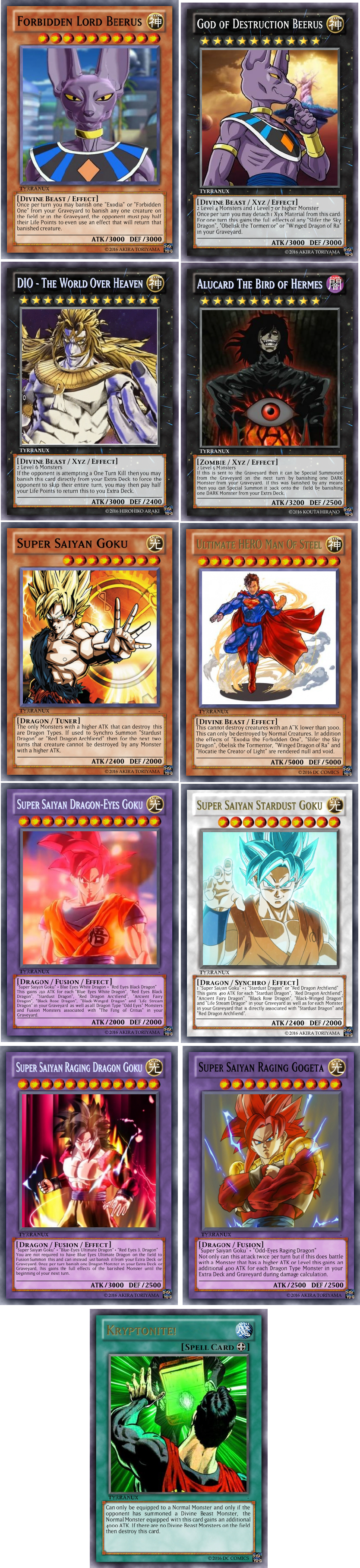terry u0027s shitty yu gi oh cards signer dragon support and