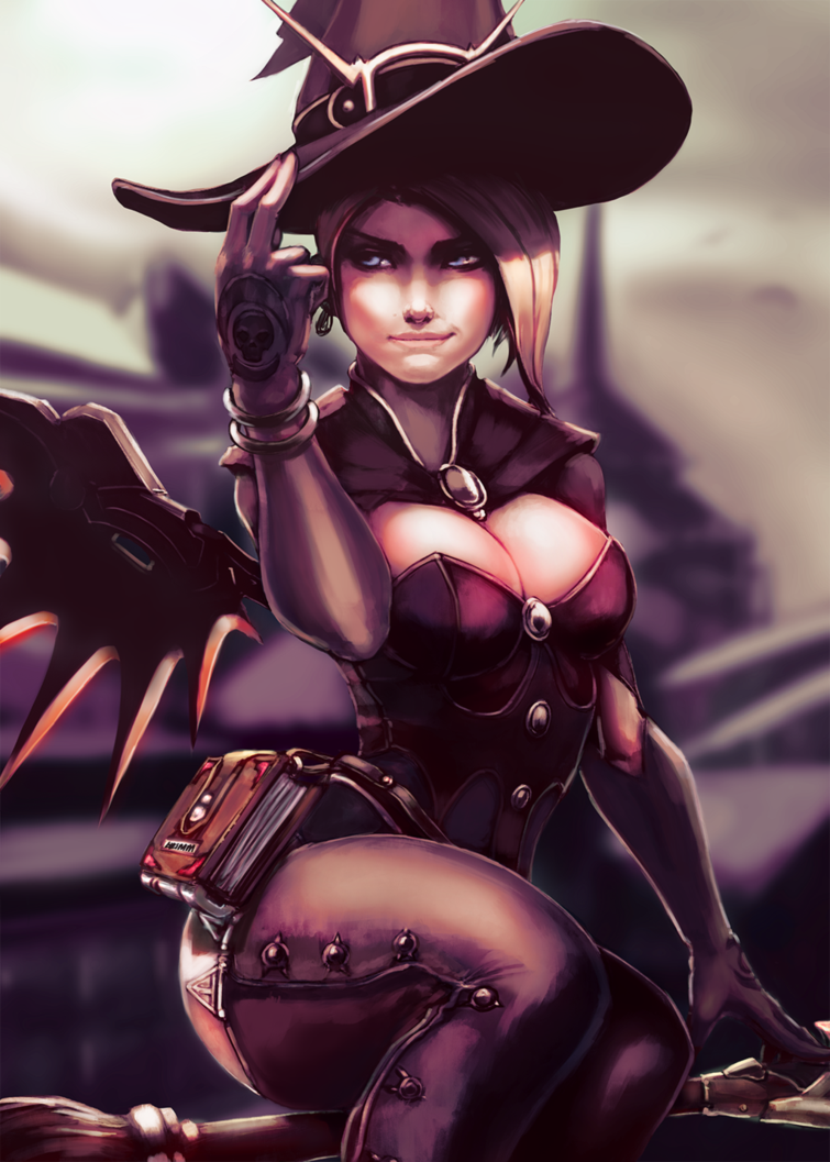 Witch Mercy by G21MM | Overwatch | Know Your Meme