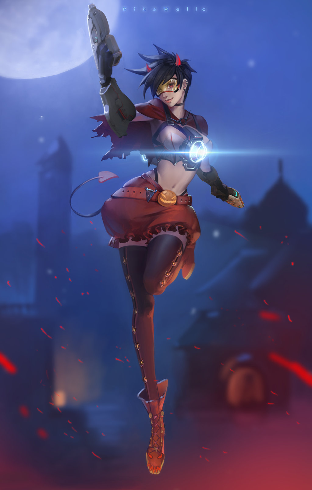 Halloween Tracer | Overwatch | Know Your Meme
