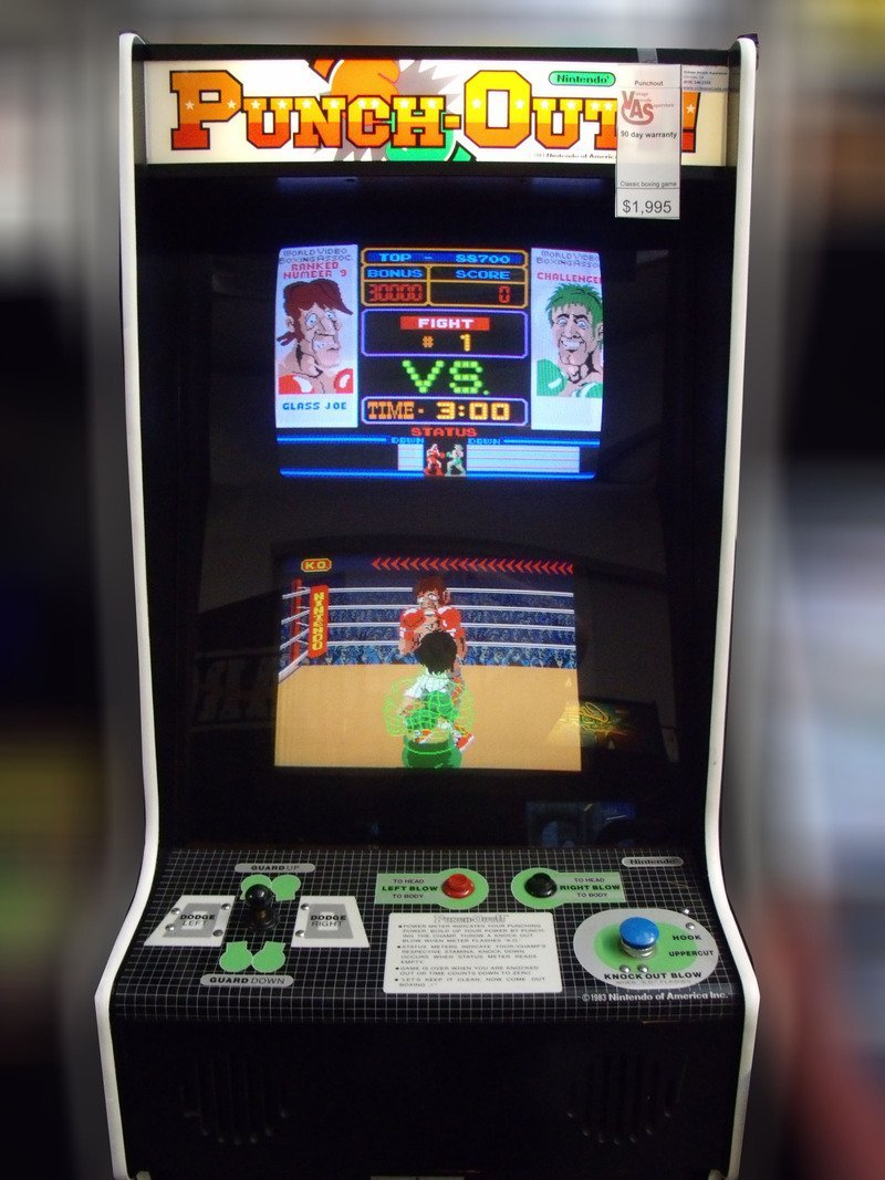 Punch Out arcade | Punch-Out!! | Know Your Meme