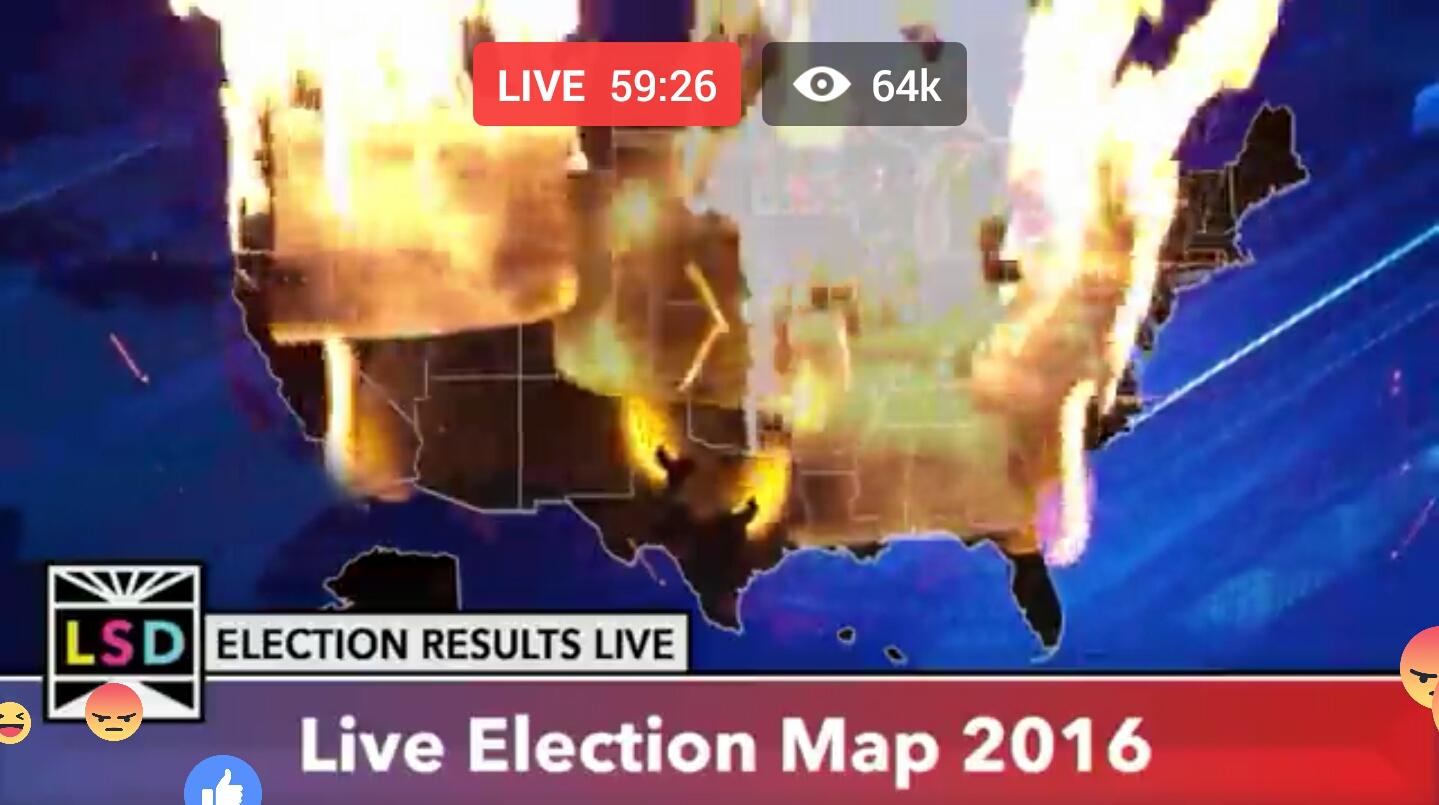 2016 United States Presidential Election Live Election Map 2016