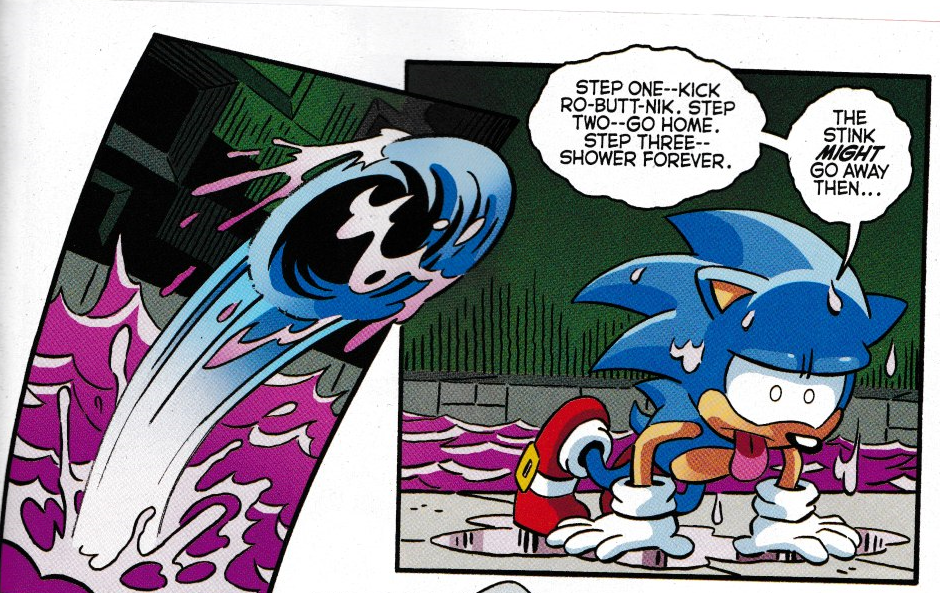 Funny Moment Meme : Funny moment from the newest issue archie sonic comics know