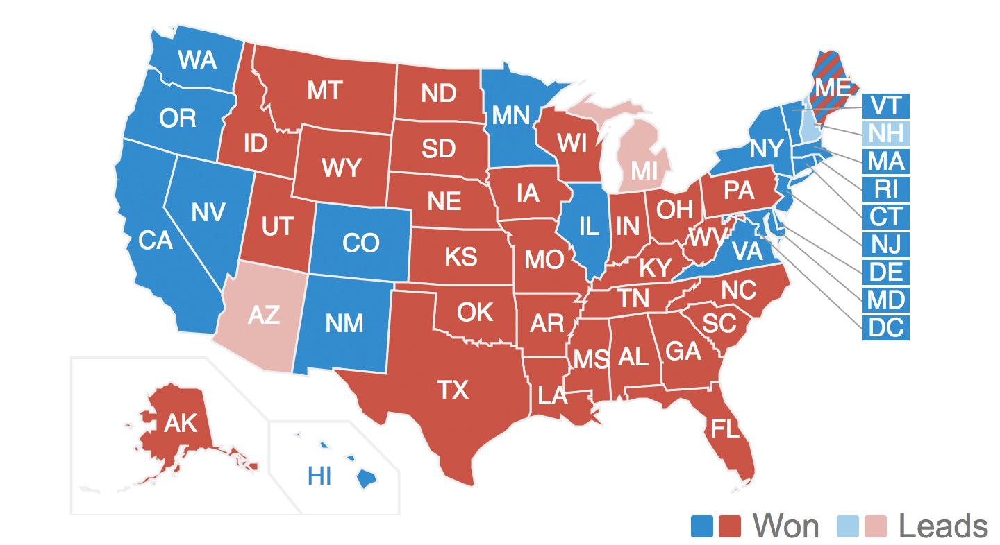 United States Presidential Election Know Your Meme - Map of memes across the us