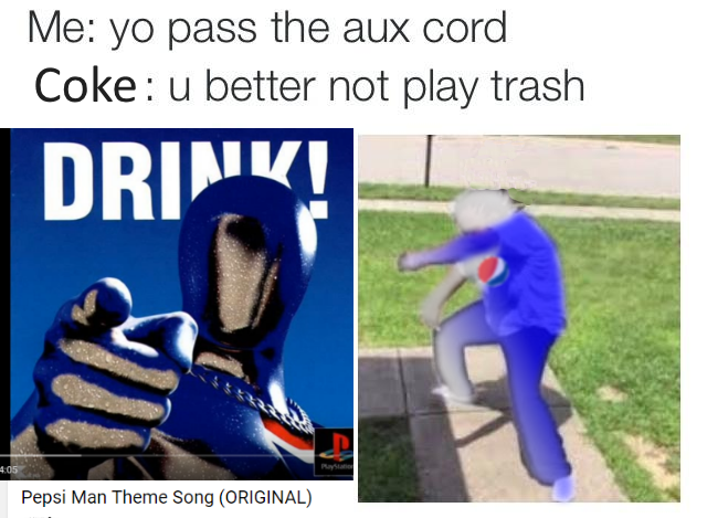 ba9 pepsiman hand me the aux cord know your meme