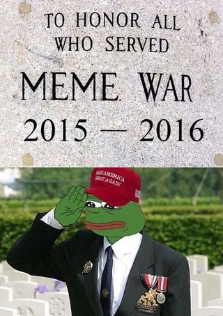 c77 to honor all who served in the meme war 2015 2016 meme wars