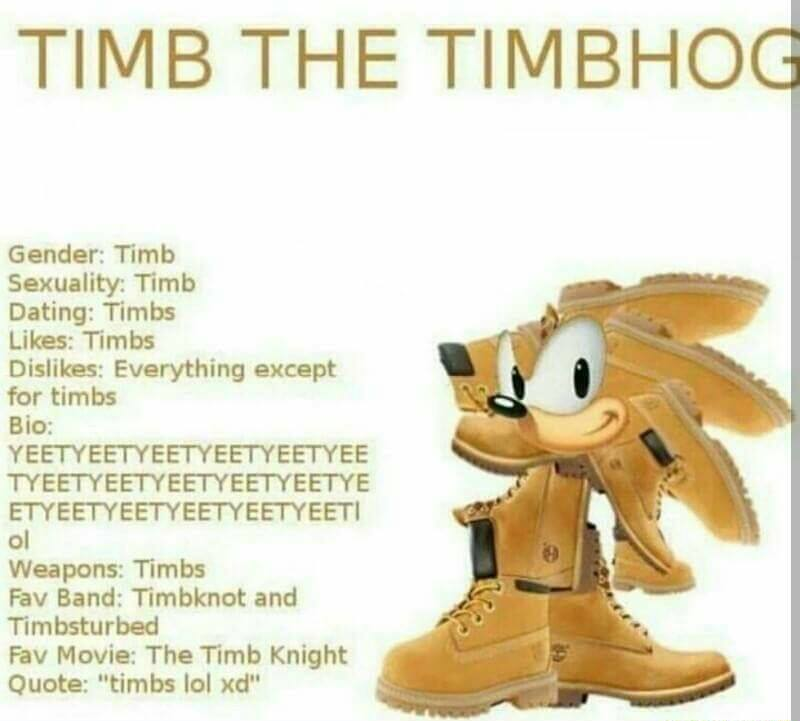 7f2 nothing personel timbs know your meme