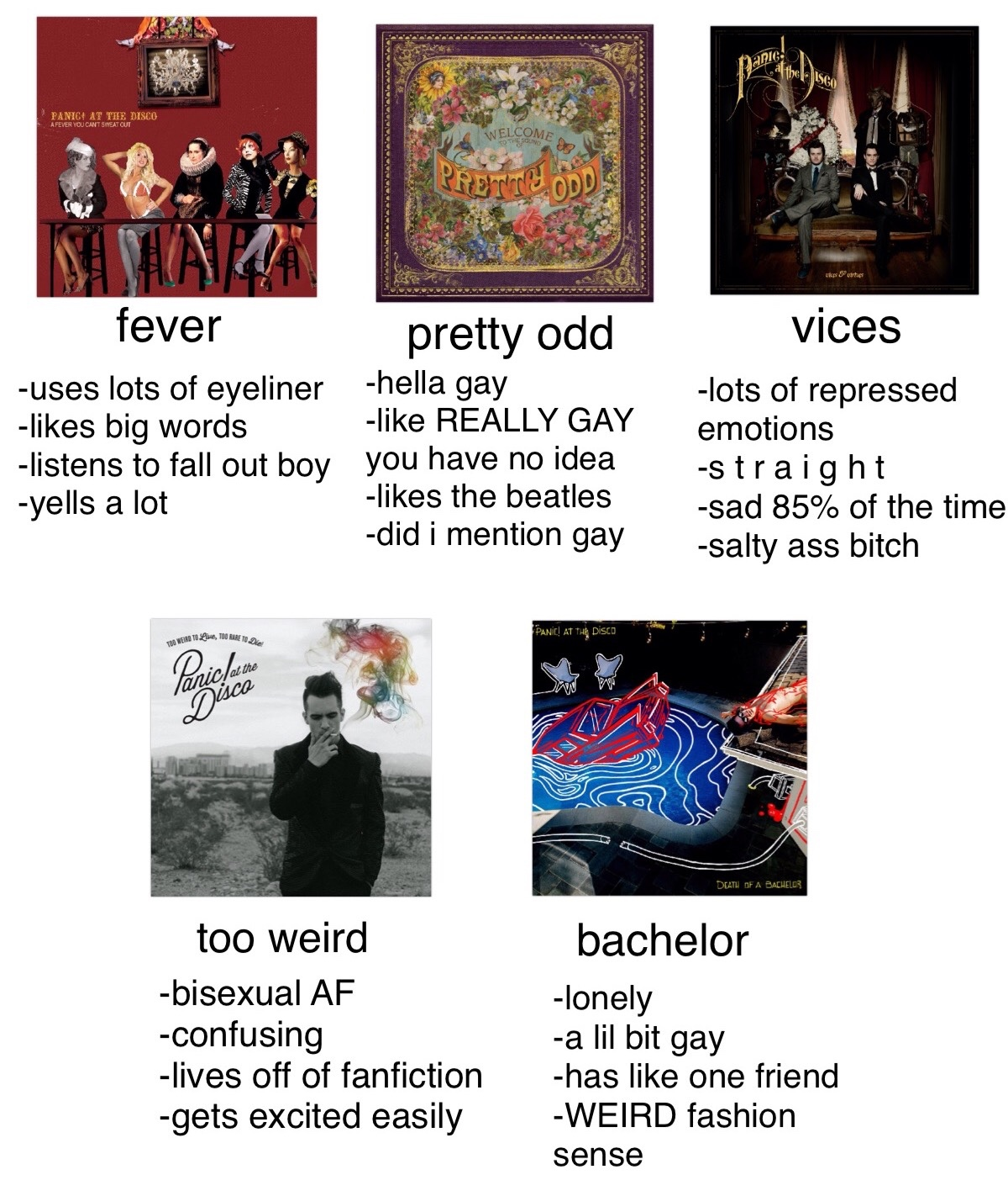 30c panic! at the memes tag yourself know your meme