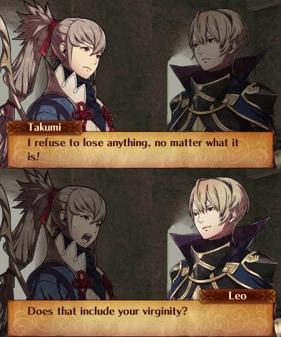 takumi and leo fire emblem know your meme