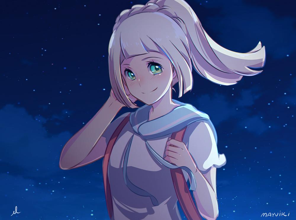 Lillie By Mayuiki Pokémon Sun And Moon Know Your Meme - Hair colour pokemon x