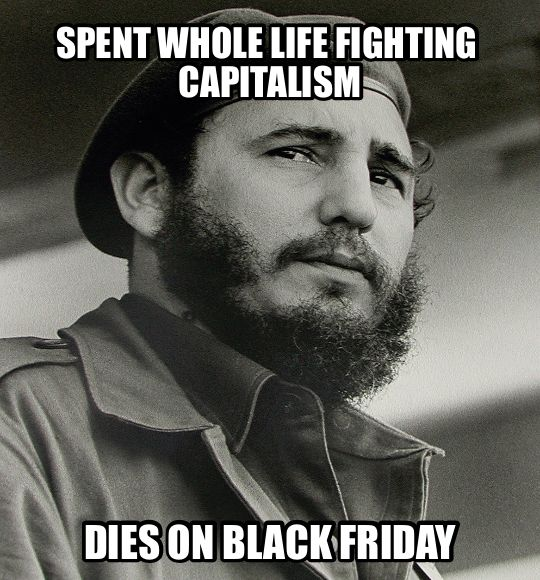 d22 spent whole life fighting capitalism dies on black friday